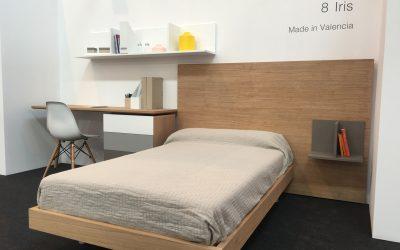 Megamobiliario presenta en la Feria del Mueble de Zaragoza la colección de dormitorios personalizable para adolescentes