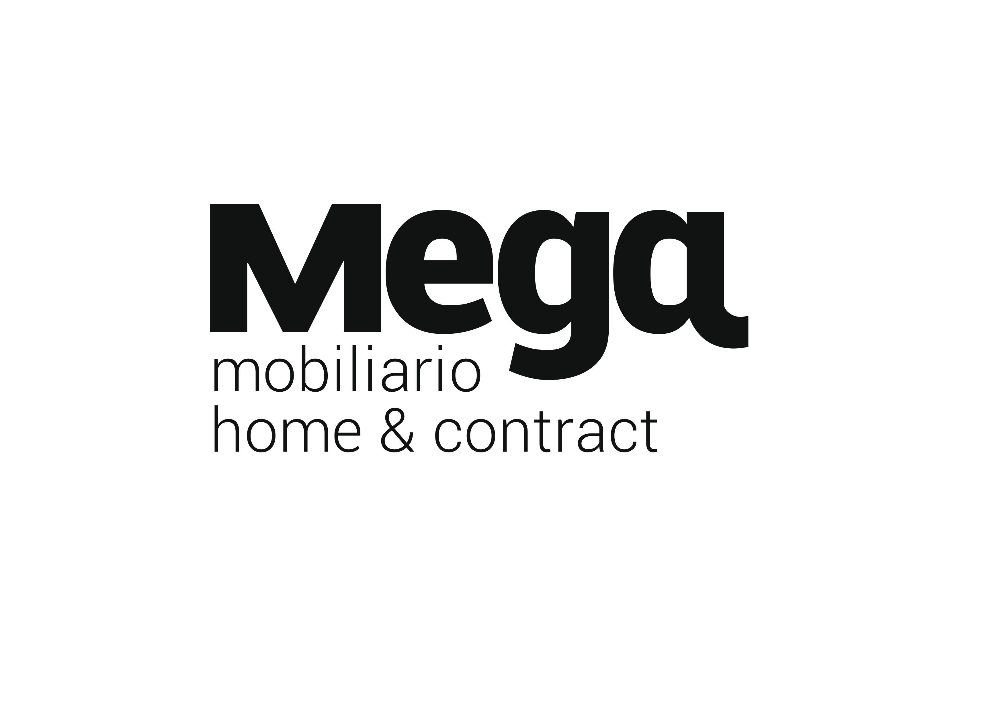 Nueva imagen corporativa de Mega Mobiliario con motivo del 40 aniversario de la empresa.