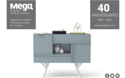 Mega Mobiliario: 40 años comprometidos con el diseño y la calidad